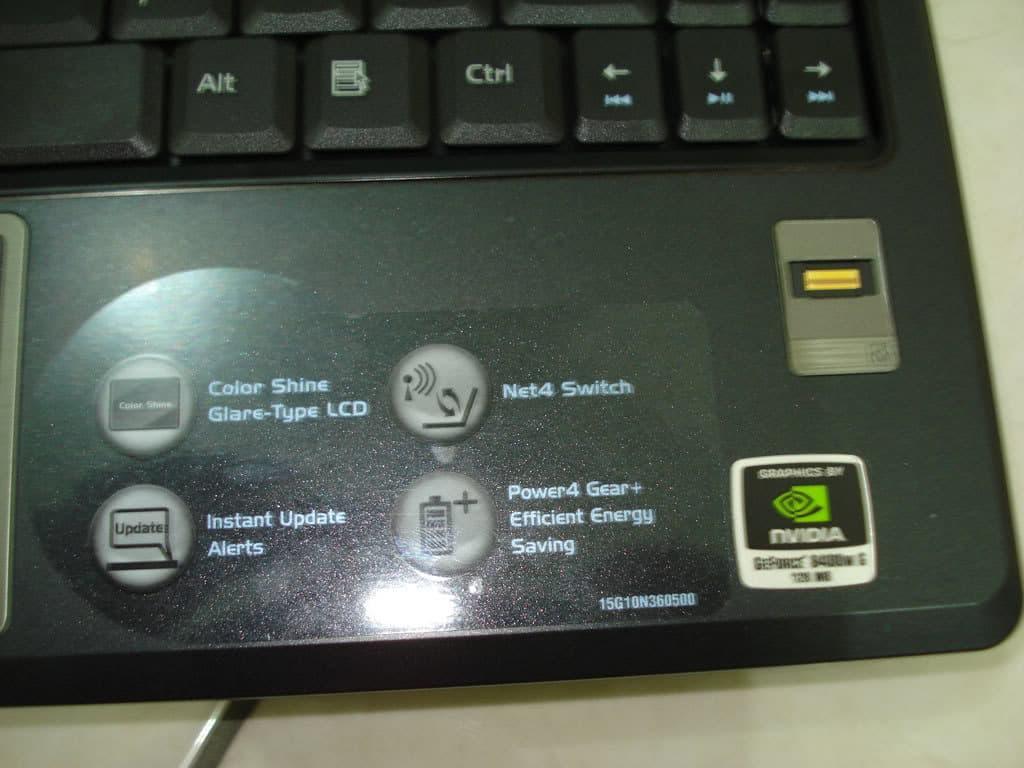 Asus F9S fingerprint