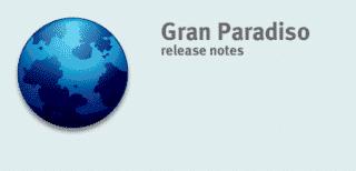 Firefox 3- Gran Paradiso